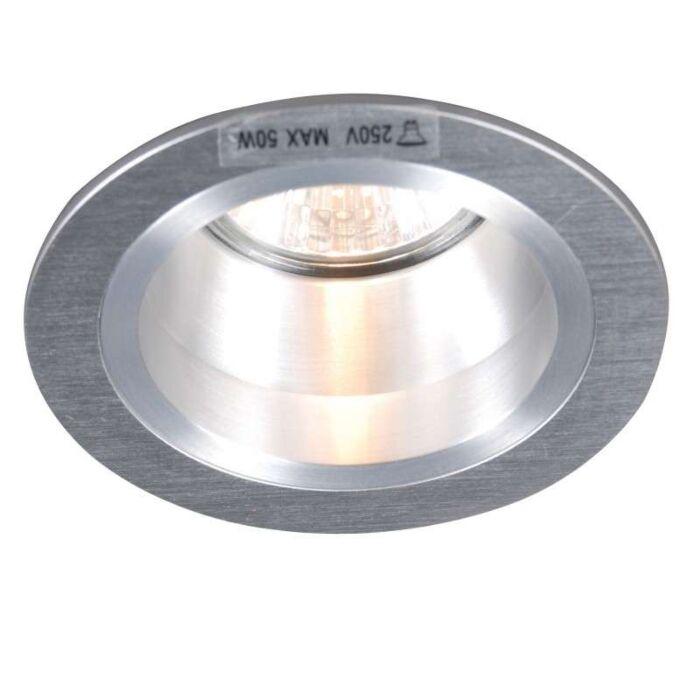 Zapustené-bodové-zahĺbenie-Okrúhly-hliník
