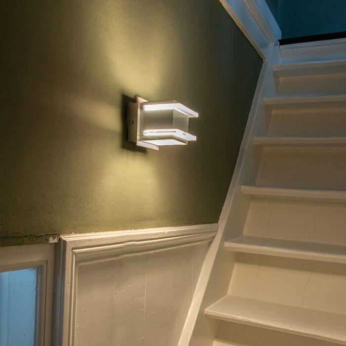 Dizajnové-nástenné-svietidlo-hliníkové---Block