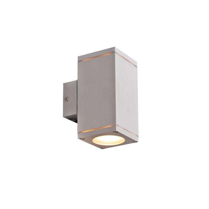 Vonkajšia-lampa-Quadro-hore-dole-hliník
