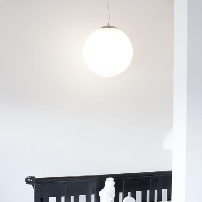 Škandinávska-závesná-lampa-opálové-sklo-50cm---Ball-50