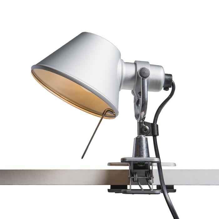 Stolná-lampa-Artemide-nastaviteľná---Artemide-Tolomeo-micro-pinza