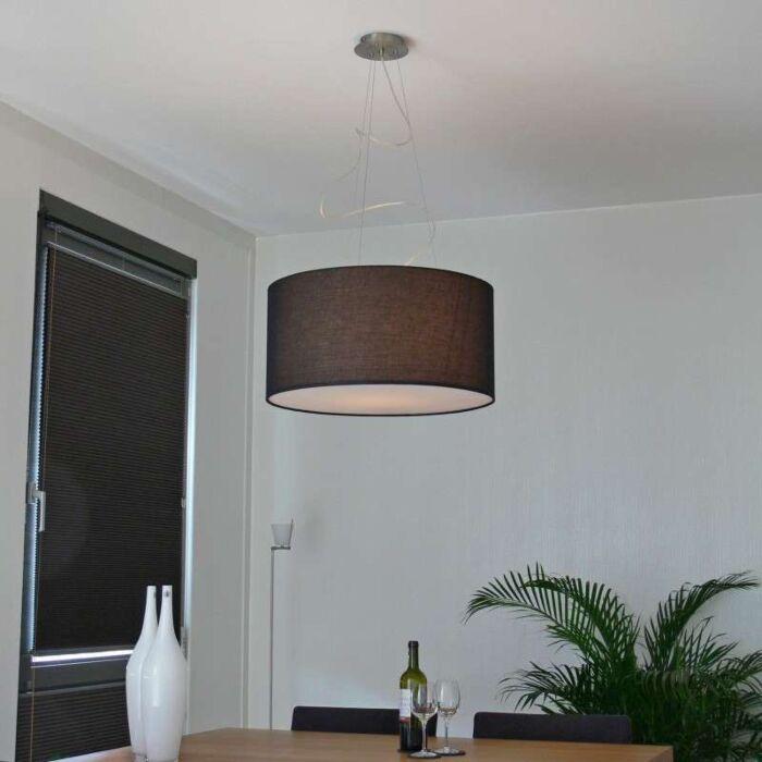 Závesná-lampa-Drum-60-čierna