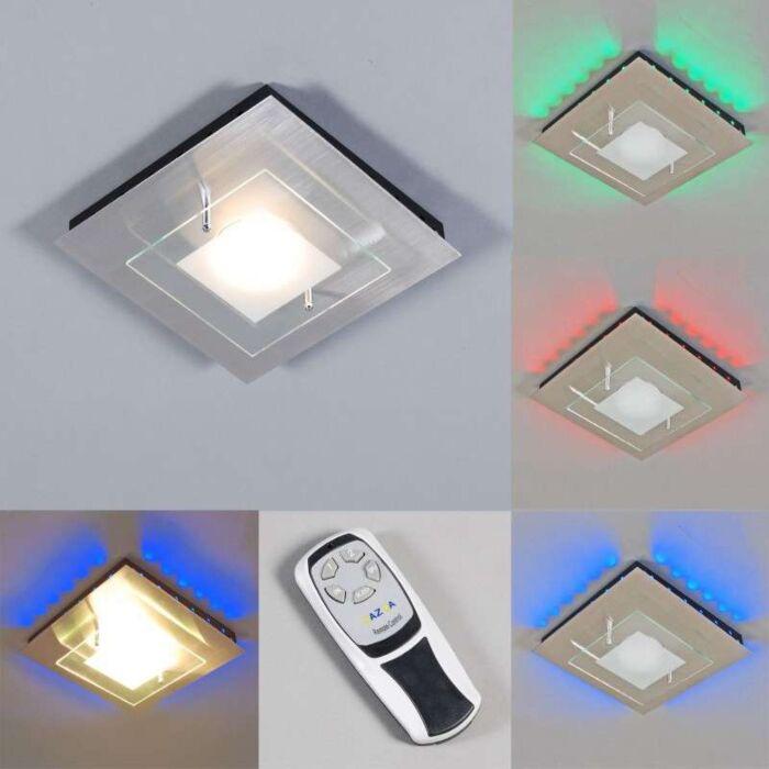 Stropná-lampa-Plate-GX-RGB-LED-oceľ
