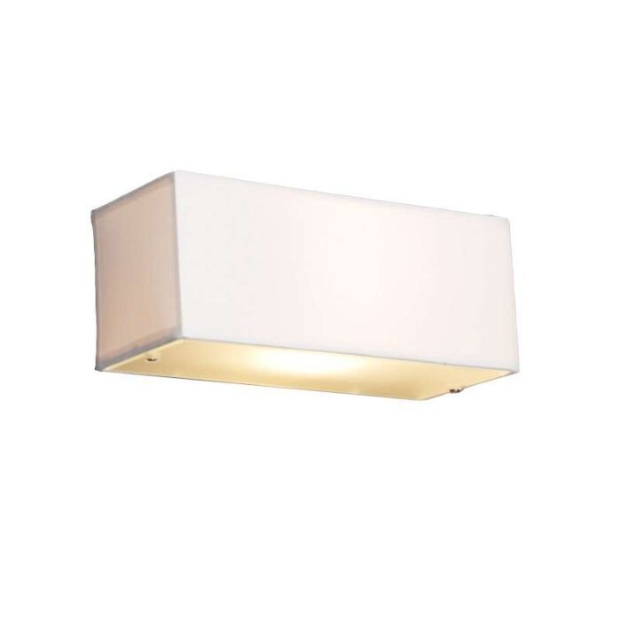 Moderné-nástenné-svietidlo-obdĺžnikové-biele---Bubon