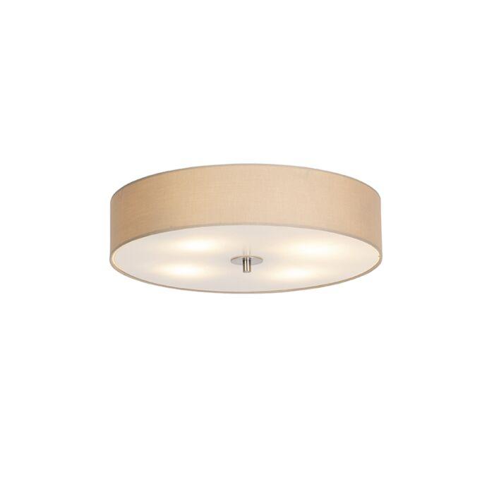 Vidiecka-stropná-lampa-béžová-50-cm---Buben