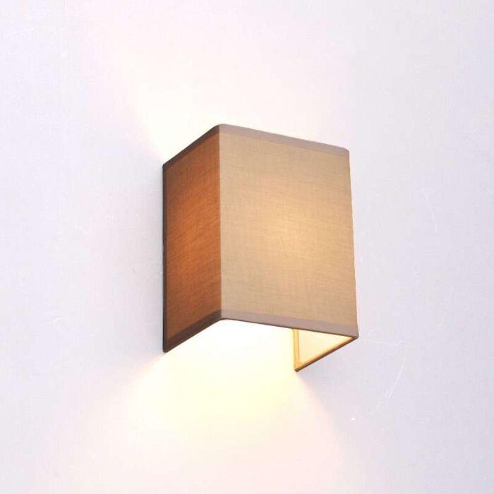Vidiecka-nástenná-lampa-béžová---Vete