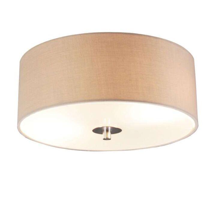 Vidiecka-stropná-lampa-béžová-30-cm---bubon