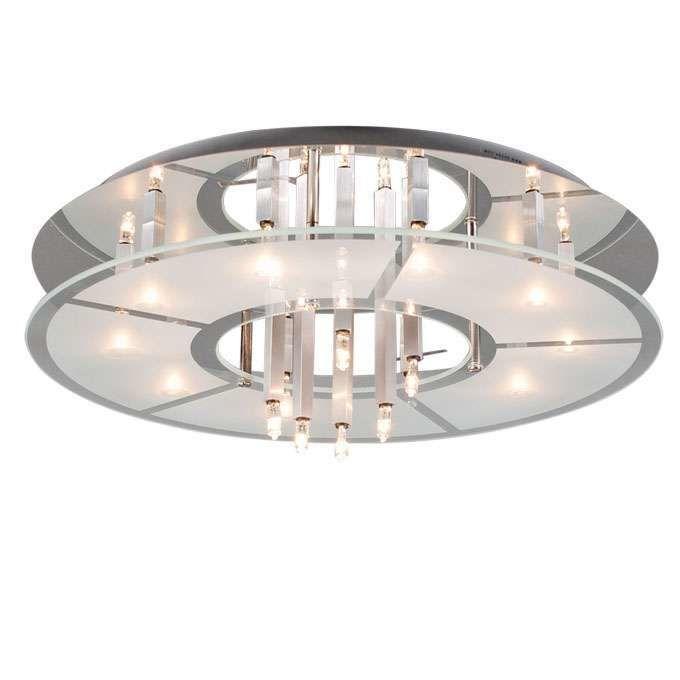 Stropné-svietidlo-Circle-16-chrome