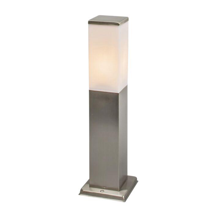 Moderné-vonkajšie-svietidlo-45-cm-oceľ---Malios