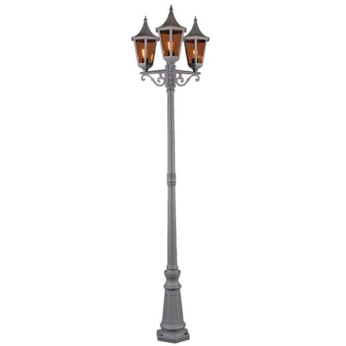 Vonkajšia-lampa-President-P3-H228-grafitová