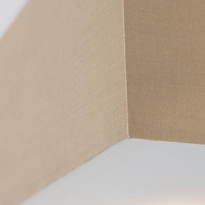 Moderné-hranaté-stropné-svietidlo-béžové-35cm---Buben