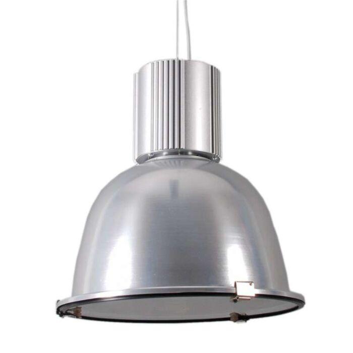 Priemyselná-závesná-lampa-strieborná---Silvie