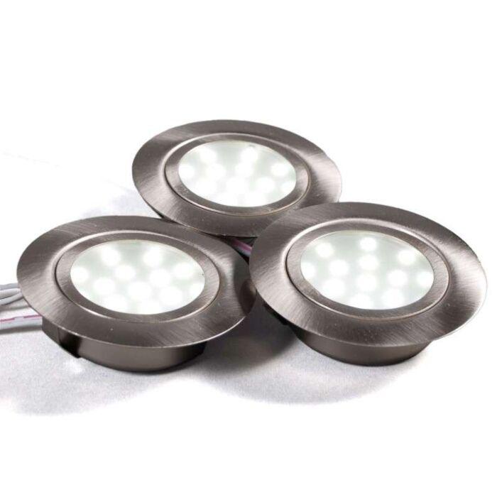 Sada-na-inštaláciu-do-skrinky-3-x-LED-oceľ