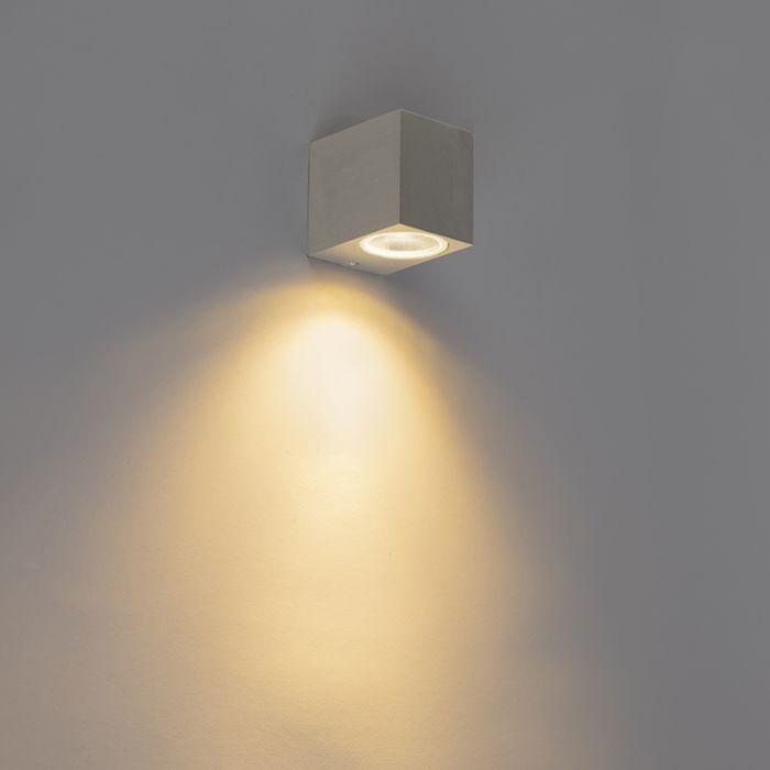 Moderné-nástenné-svietidlo-hliníkové-IP44---Baleno-I.