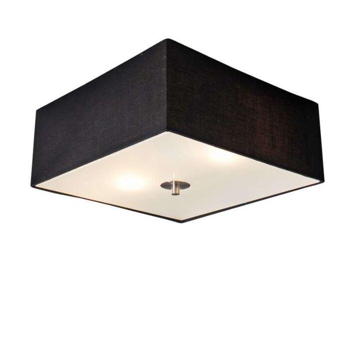 Stropná-lampa-Drum-35-štvorcová-čierna