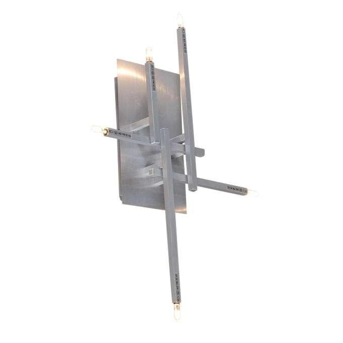 Nástenné-svietidlo-/-Stropné-svietidlo-Rodi-5-hliníkové