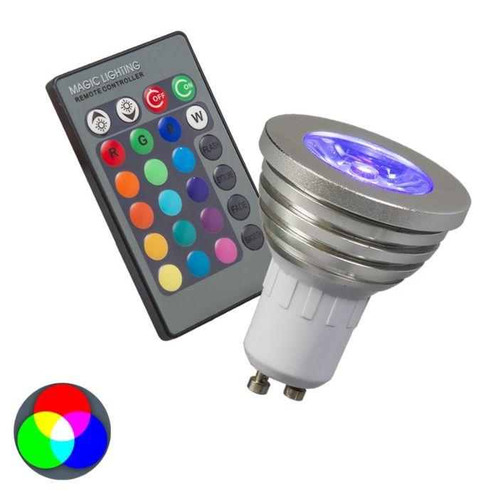 RGB-žiarovka-GU10-s-diaľkovým-ovládaním