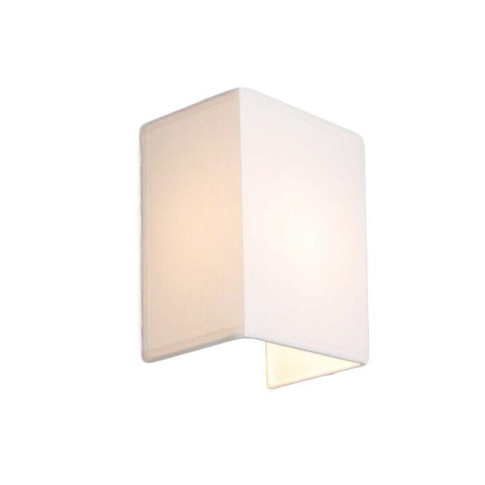 Vidiecka-nástenná-lampa-biela---Vete