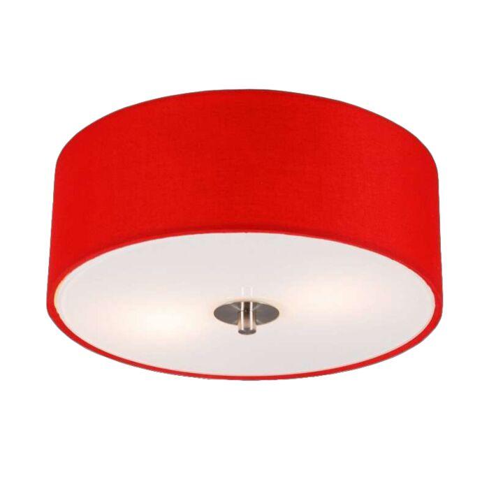 Moderné-stropné-svietidlo-červené-30-cm---Buben