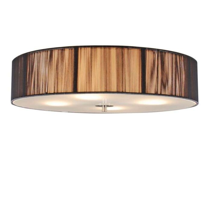 Klasické-stropné-svietidlo-antracit-50-cm---lano