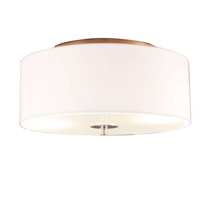 Vidiecka-stropná-lampa-biela-30-cm---bubon