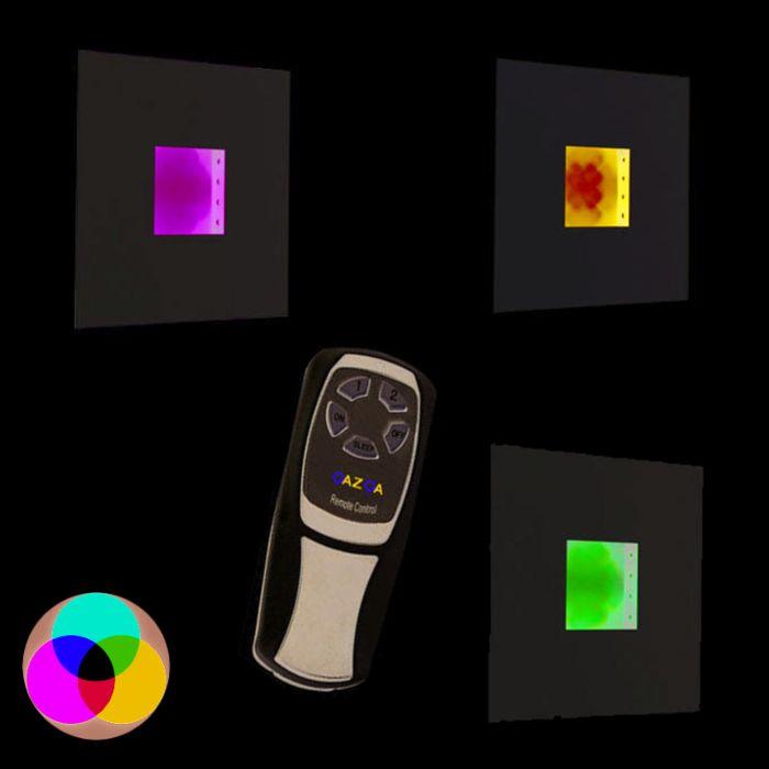 Nástenné-svietidlo-Doska-RGB-LED-biela