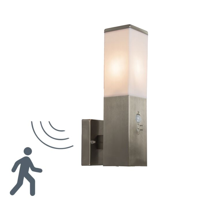 Vonkajšia-lampa-Malios-nástenná-IR-oceľ
