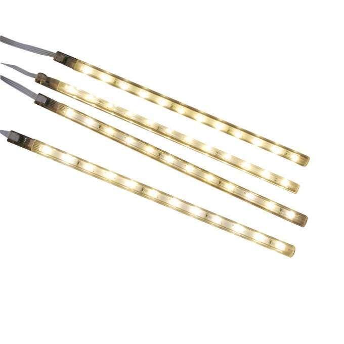 Sada-štyroch-LED-pásikov-teplá-biela
