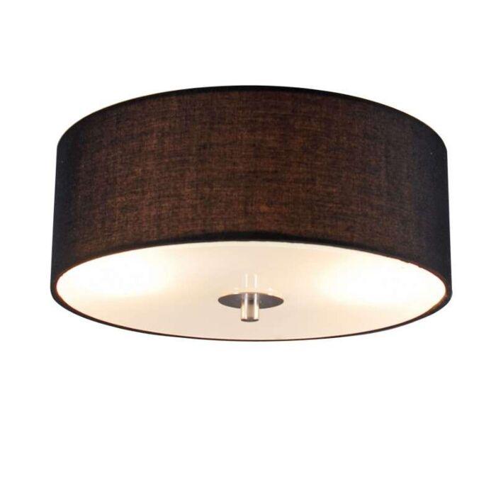 Vidiecke-stropné-svietidlo-čierne-30-cm---bubon