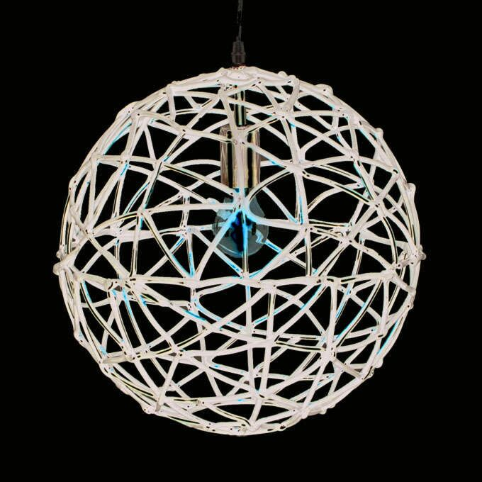 Závesná-lampa-Birdy-40-čierna