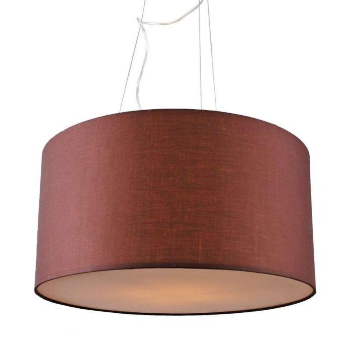 Závesná-lampa-Drum-60-hnedá