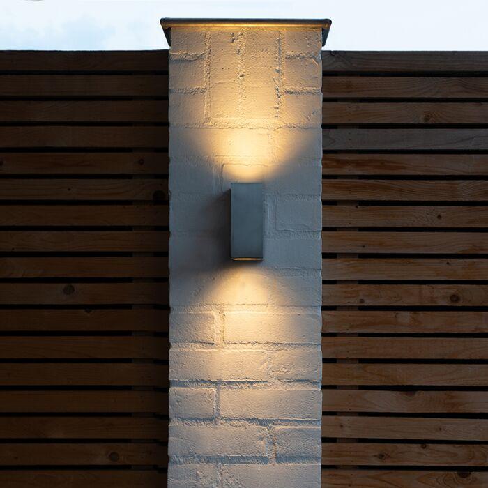 Moderné-nástenné-svietidlo-hliníkové-IP44---Baleno-II