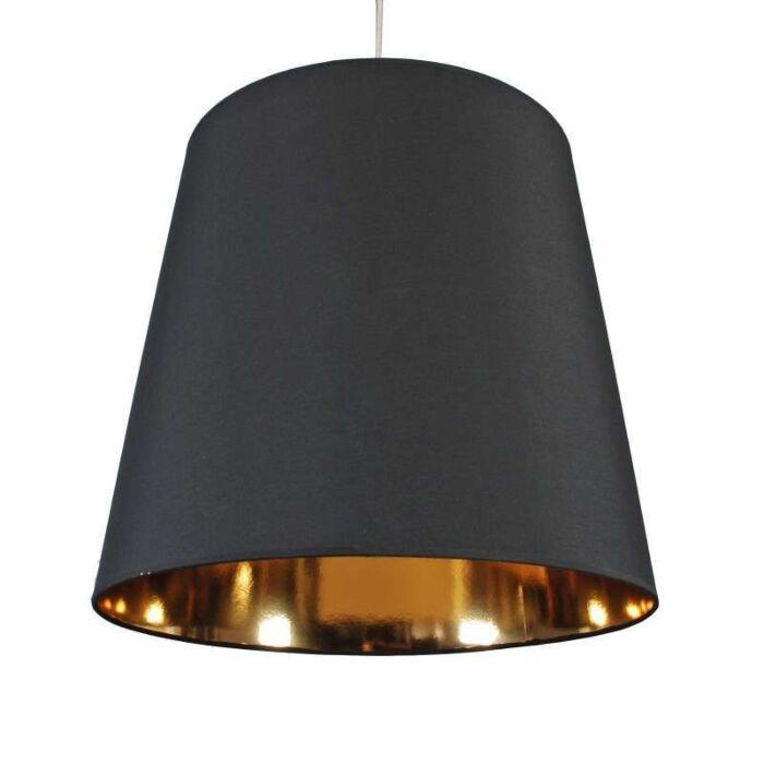 Závesná-lampa-Tienidlo-čierne-zlato