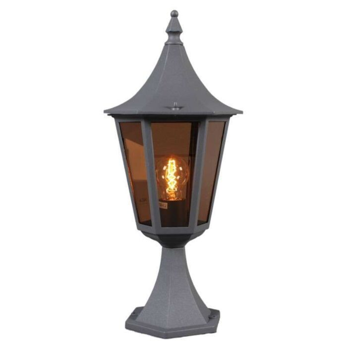 Vonkajšia-lampa-President-P52-grafitová