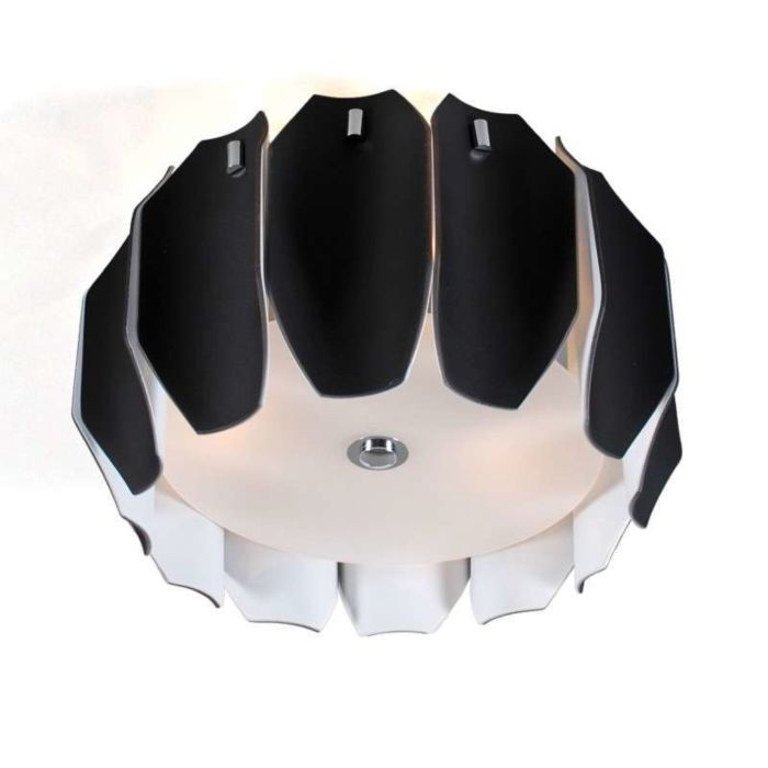Stropné-svietidlo-Archo-40-chróm---čierne