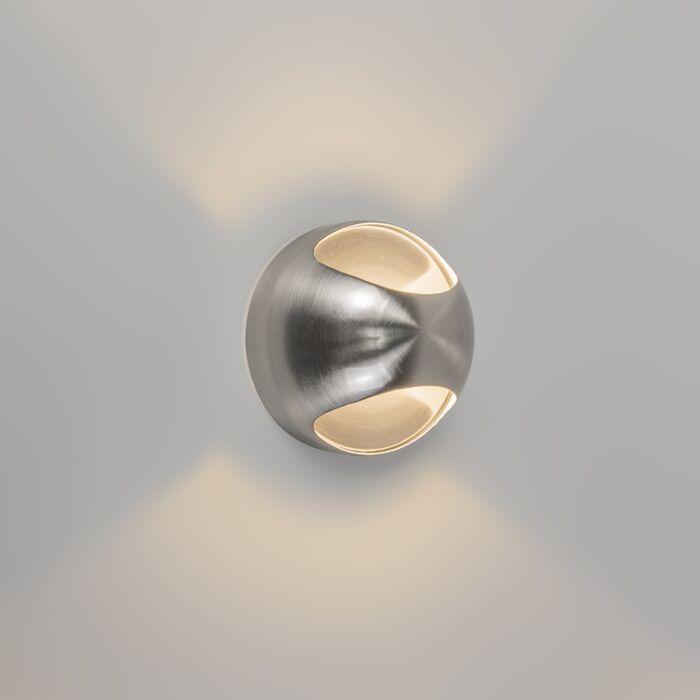 Nástenné-svietidlo-OJO-oceľ