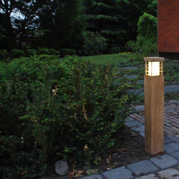 Vonkajšia-lampa-Colin-Square-Teak