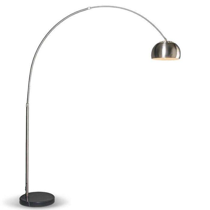 Moderná-oblúková-lampa-z-ocele-nastaviteľná---Grande