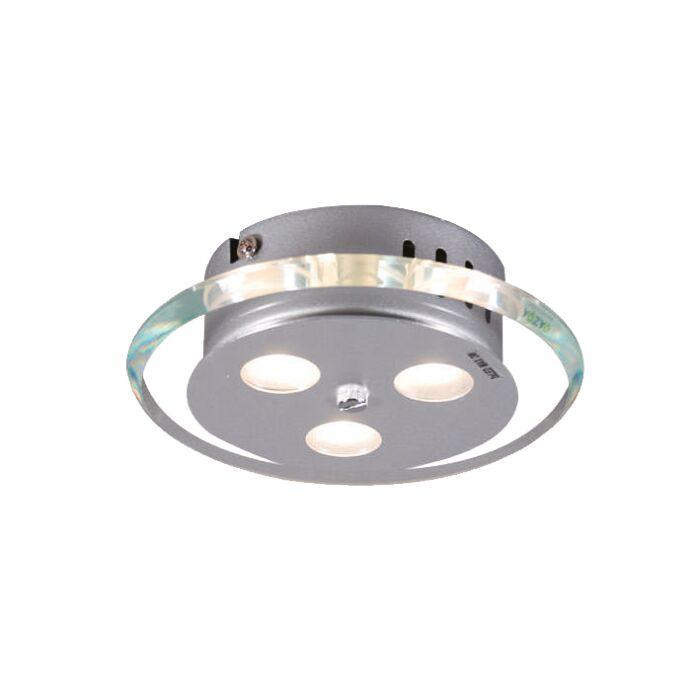 Stropné-svietidlo-Credo-okrúhle-19-LED-číre