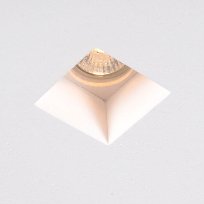 Moderný-zapustený-bodový-mini-štvorec---Gipsy-Zero