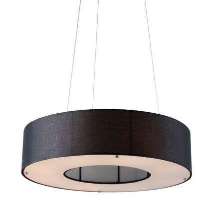 Závesná-lampa-Drum-Open-60cm-čierna