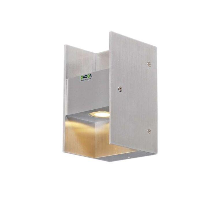 Nástenné-svietidlo-Luna-II-hliníková-LED-IP54