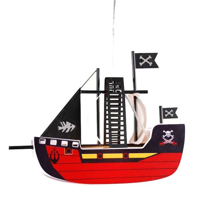 Závesná-lampa-Kids-Pirátska-loď