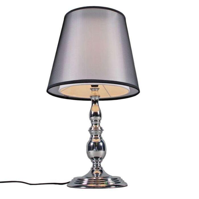 Stolová-lampa-Mythos-chróm-s-tienidlom