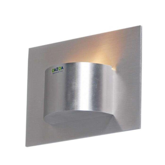 Nástenné-svietidlo-Oko-1-hliníkové