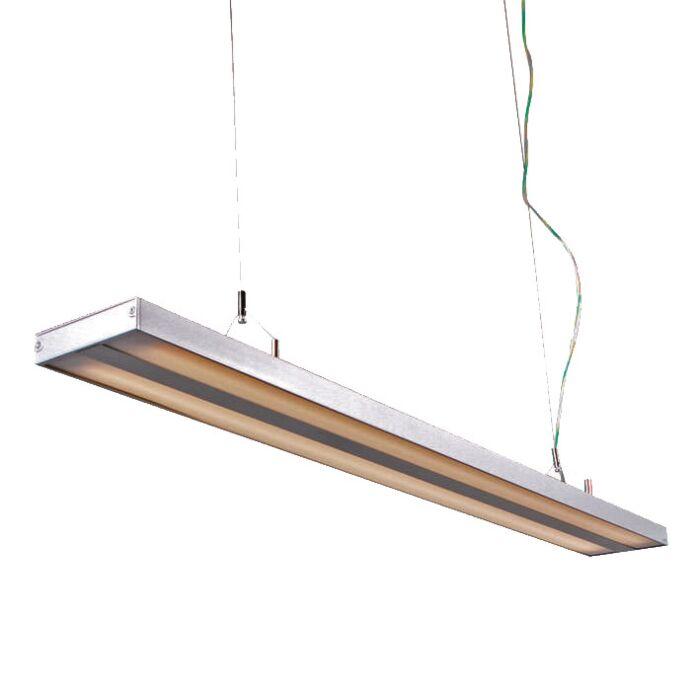 Závesné-svietidlo-Tube-S-strieborné-2-x-28W