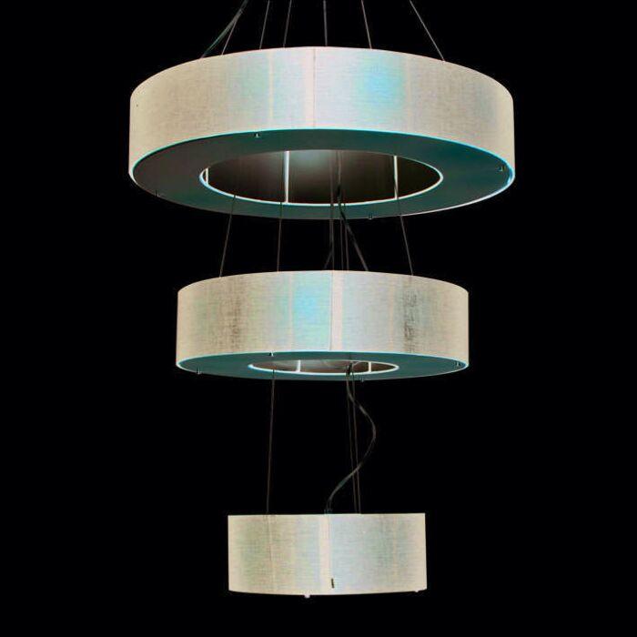 Závesné-svietidlo-Drum-Open-3-vrstvové-čierne