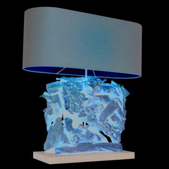 Stolová-lampa-Raman-Recta-prírodná-s-hnedým-odtieňom
