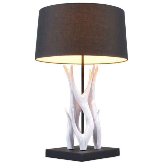 Stolová-lampa-Yindee-biela-s-čiernym-tienidlom