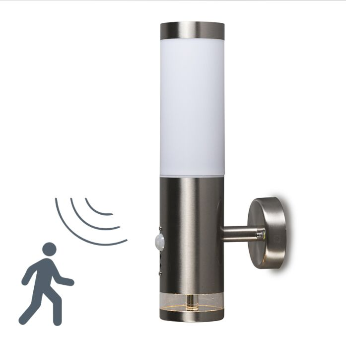 Vonkajšia-lampa-Rox-nástenný-Lux-LED-IR-senzor